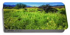 Mustard Field Portable Battery Charger