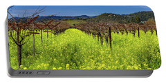 Mustards At Frog's Leap Winery Portable Battery Charger