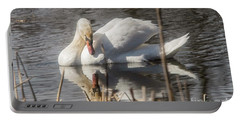 Portable Battery Charger featuring the photograph Mute Swan - 3 by David Bearden