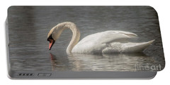 Mute Swan Portable Battery Charger by David Bearden