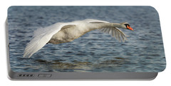 Portable Battery Charger featuring the photograph Mute Swan by Roy McPeak