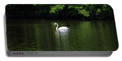 Portable Battery Charger featuring the photograph Mute Swan by Sandy Keeton