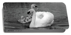 Mute Swans Portable Battery Charger