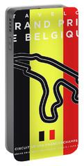 My 2017 Grand Prix De Belgique Minimal Poster Portable Battery Charger