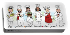 My Chefs In A Row-ii Portable Battery Charger