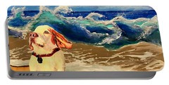 My Dog And The Sea #1 - Beagle Portable Battery Charger