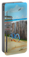 My Favorite Beaches Portable Battery Charger by Lloyd Dobson