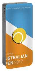 My Grand Slam 01 Australian Open 2017 Minimal Poster Portable Battery Charger