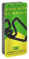 My Grande Premio Do Brasil Minimal Poster Portable Battery Charger