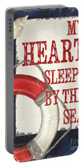 My Heart Sleeps By The Sea Portable Battery Charger