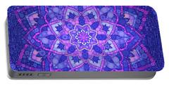 My Mandala, Pop Art By Mb Portable Battery Charger