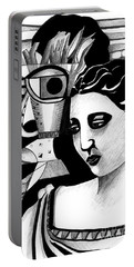 My Outing With A Young Woman By Picasso Portable Battery Charger