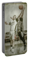 Portable Battery Charger featuring the photograph My Rebound by Ronald Santini