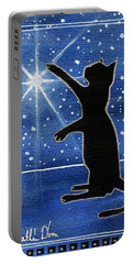 My Shinning Star - Christmas Cat Portable Battery Charger