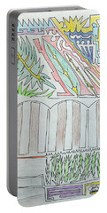 My Side Yard Portable Battery Charger by J R Seymour