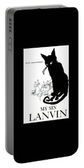 Portable Battery Charger featuring the digital art My Sin by ReInVintaged