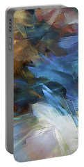 Portable Battery Charger featuring the digital art My Soul Finds Rest In God by Margie Chapman