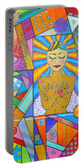 My Soul, I Carry Portable Battery Charger by Jeremy Aiyadurai