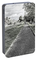 Portable Battery Charger featuring the photograph My Street II by Al Bourassa