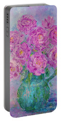My Summer Roses Portable Battery Charger