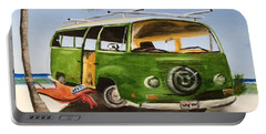 My Vw Van Portable Battery Charger by Lloyd Dobson