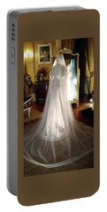 Portable Battery Charger featuring the photograph My Wedding Gown by Gary Smith