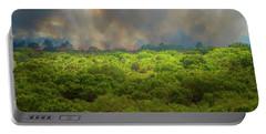 Myakka River Burn Portable Battery Charger