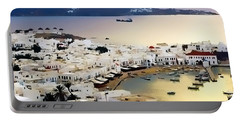 Mykonos Greece Portable Battery Charger
