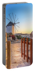 Mykonos, Greece Portable Battery Charger