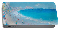 Myrtle Beach And Springmaid Pier Portable Battery Charger by Jan Matson