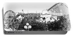 Myrtle Beach Pavillion Amusement Park Monotone Portable Battery Charger