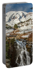 Myrtle Falls, Mt Rainier Portable Battery Charger