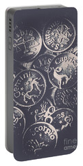 Mysteries Of The Horoscopes Portable Battery Charger