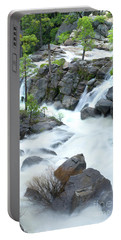 Mysterious Falls In Yosemite Portable Battery Charger