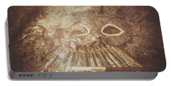 Mysterious Vintage Masquerade Portable Battery Charger by Jorgo Photography - Wall Art Gallery