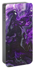 Portable Battery Charger featuring the painting Mystery, Moodiness  by Robbie Masso