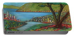 Mystery Painting From 1961 Portable Battery Charger