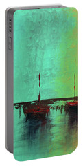 Mystic Bay Triptych 1 Of 3 Portable Battery Charger