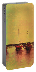 Mystic Bay Triptych 2 Of 3 Portable Battery Charger