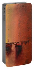 Mystic Bay Triptych 3 Of 3 Portable Battery Charger