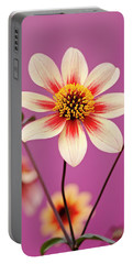 Mystic Dahlia Portable Battery Charger