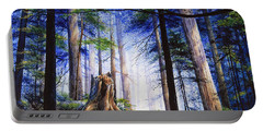 Mystic Forest Majesty Portable Battery Charger
