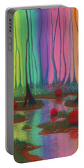 Mystic Marsh 01 Panel A Portable Battery Charger
