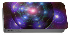 Mystical Metatron Portable Battery Charger