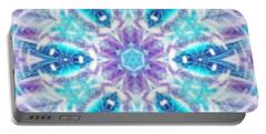 Portable Battery Charger featuring the digital art Mystic Universe 1 Kk2 by Derek Gedney