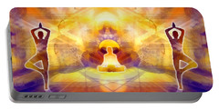 Portable Battery Charger featuring the digital art Mystic Universe 14 by Derek Gedney