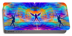 Portable Battery Charger featuring the digital art Mystic Universe 15 by Derek Gedney