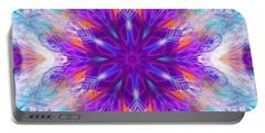 Portable Battery Charger featuring the digital art Mystic Universe 2 Kk2 by Derek Gedney