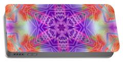 Portable Battery Charger featuring the digital art Mystic Universe 3 Kk2 by Derek Gedney