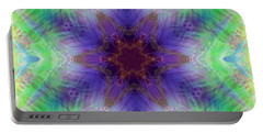 Portable Battery Charger featuring the digital art Mystic Universe 4 Kk2 by Derek Gedney